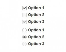 Bootstrap 3 Metro Style CSS3 Checkbox , Radio , NO JS, NO IMG