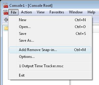 MMC_console_window