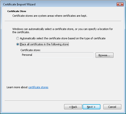 select_personal_certificate_store