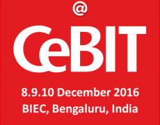 Meet us at CeBIT 2016, Bengaluru